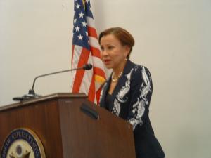Velazquez Speaking