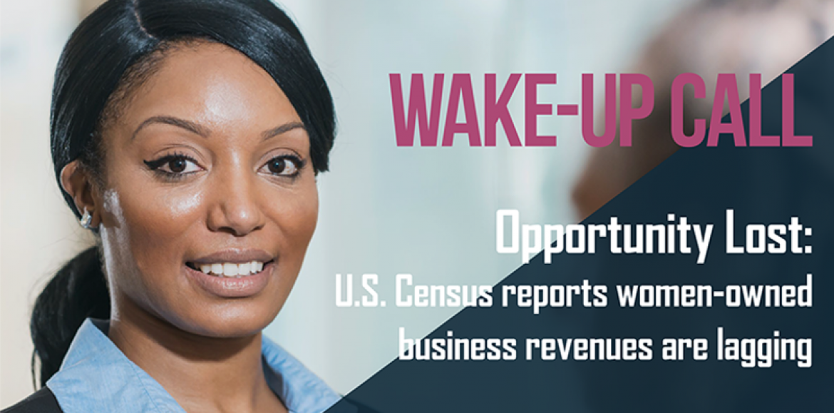 Wake-Up Call: Women in Business, Women of Color